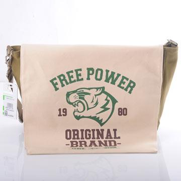 虎頭背包 - 綠咖啡款