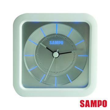 SAMPO LED音樂鬧鐘-白色 PY-Z1206ML