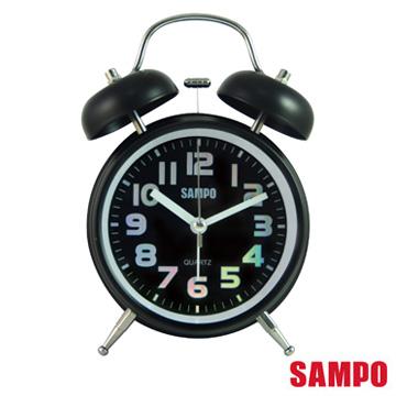 SAMPO 復古圓形鬧鐘 PY-Z1207ML