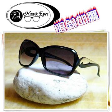 【Hawk eyes】一級光學抗UV400太陽眼鏡-冷豔時尚A010