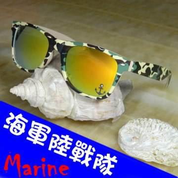 【Hawk eyes】一級光學抗UV400太陽眼鏡-海軍陸戰隊