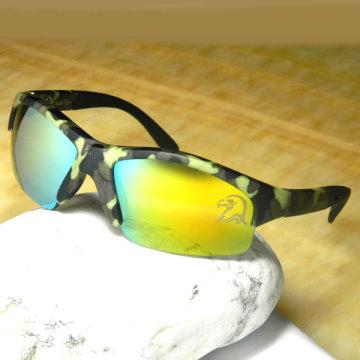 【Hawk eyes】一級光學抗UV400太陽眼鏡-運動迷彩老鷹