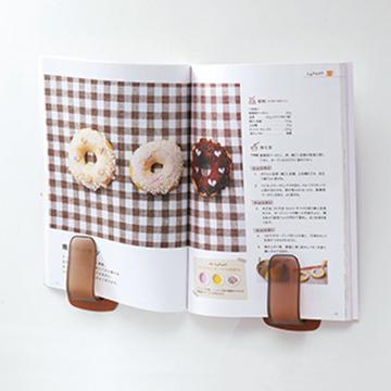 【日本創意設計】食譜掛壁書架-白色