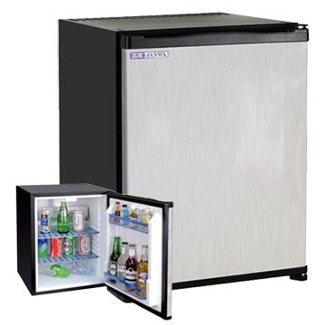 ZANWA晶華 電動吸收式客房冰箱(鏡面鋼板前門)CLT-42ST