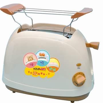 KRIA可利亞 烘烤二用笑臉麵包機 KR-8003(咖啡色)