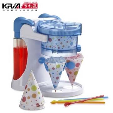 KRIA可利亞 雙享電動刨冰機/碎冰機/製冰機KR-0148