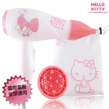 HELLO KITTY國際電壓迷你吹風機KT-888s