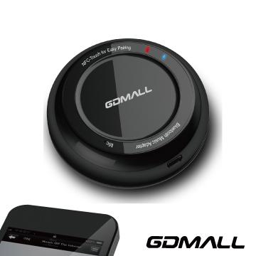GDMALL Audio NFC 藍芽音樂接收器(黑)