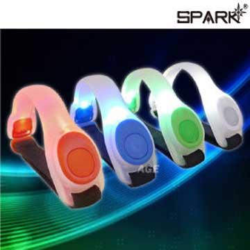 SPARK 超炫光LED光環臂帶/跑步/登山/露營_BL-2500(顏色隨機)