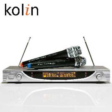 歌林 超高頻無線麥克風/卡拉OK/會議/家庭_KMC-EH362