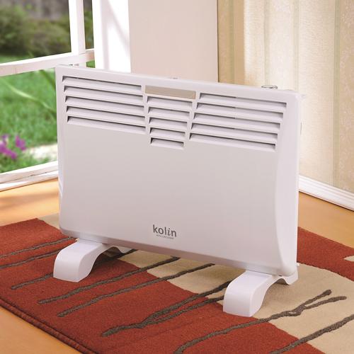 歌林 防潑水浴室/房間兩用電暖器KFH-LN122WP