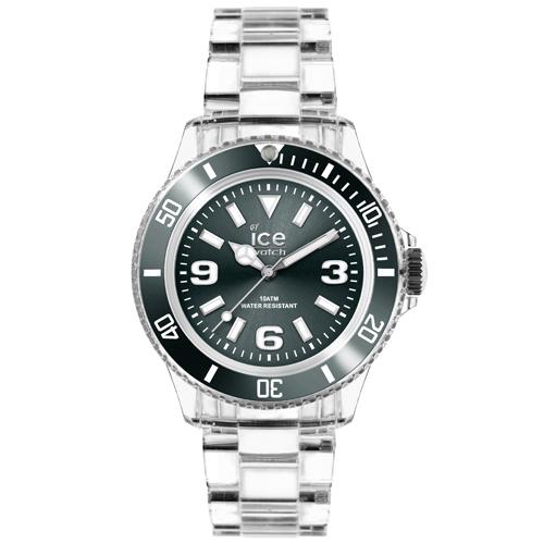 ICE Watch PURE系列 純淨透明腕錶(炭灰)38mm