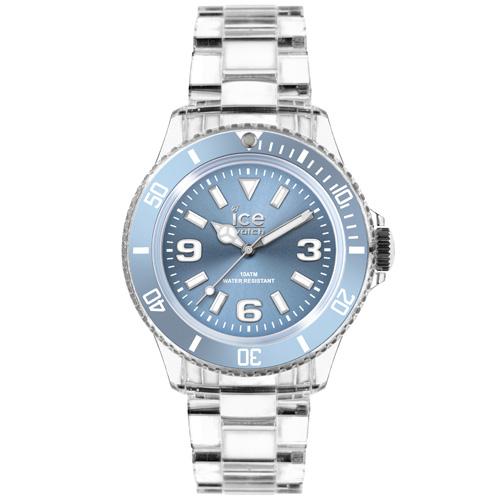 ICE Watch PURE系列 純淨透明腕錶(藍)38mm
