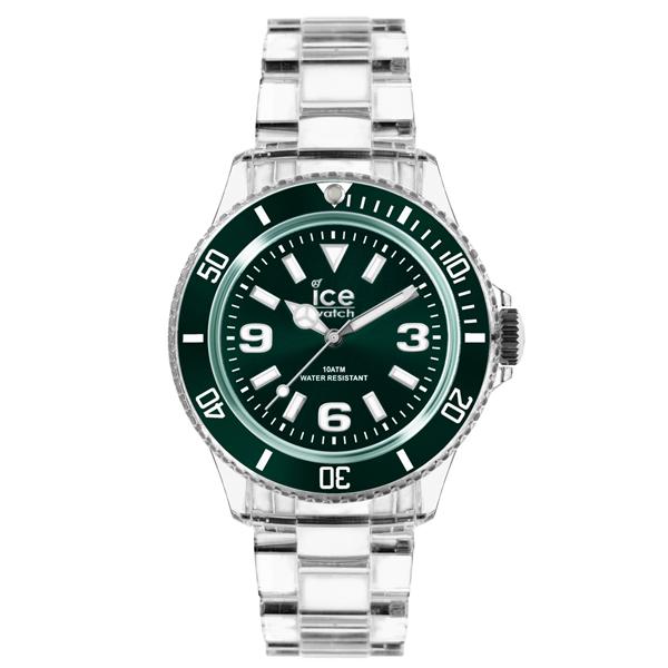 ICE Watch PURE系列 純淨透明腕錶(綠)38mm
