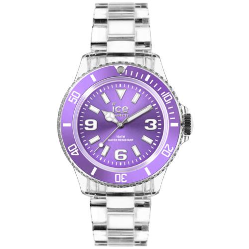 ICE Watch PURE系列 純淨透明腕錶(紫)38mm