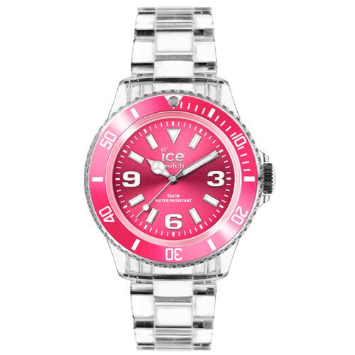 ICE Watch PURE系列 純淨透明腕錶(粉紅)38mm
