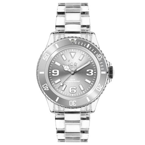 ICE Watch PURE系列 純淨透明腕錶(銀)38mm