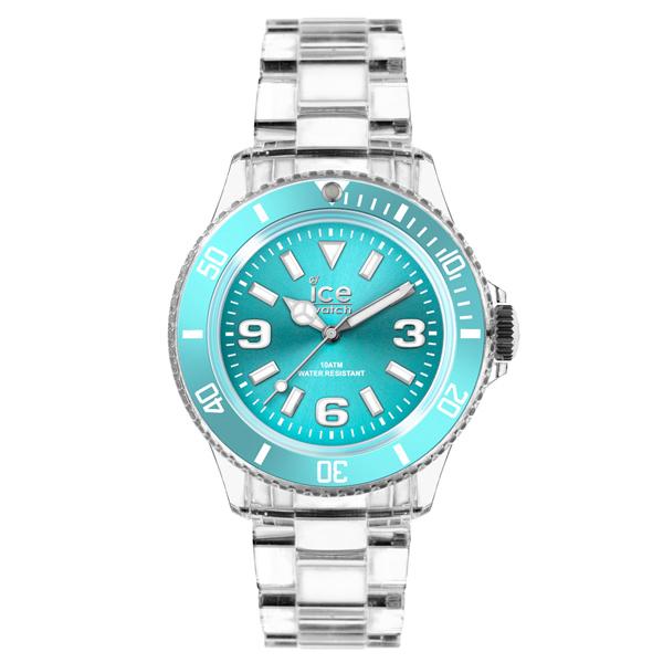 ICE Watch PURE系列 純淨透明腕錶(土耳其綠)38mm