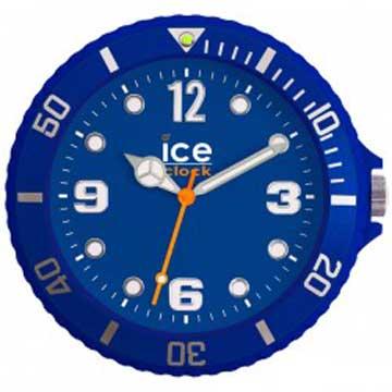 ICE-CLOCK - 玩味色彩質感掛鐘-籃/28cm