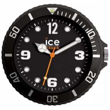 ICE-CLOCK - 玩味色彩質感掛鐘-黑/28cm