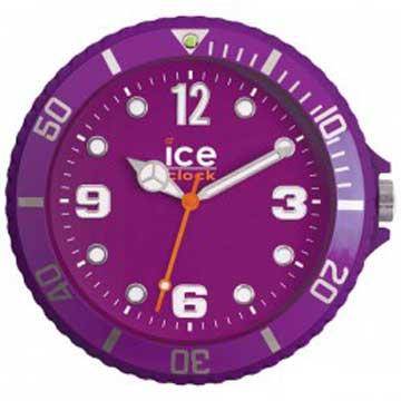 ICE-CLOCK - 玩味色彩質感掛鐘-紫/28cm