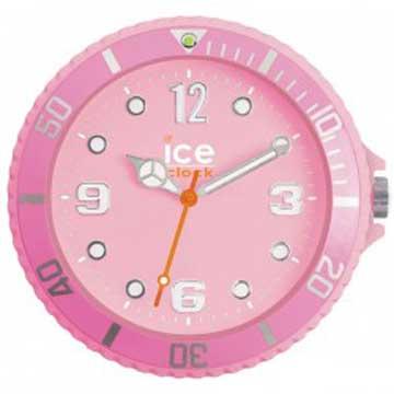 ICE-CLOCK - 玩味色彩質感掛鐘-粉紅/28cm