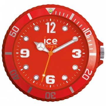 ICE-CLOCK - 玩味色彩質感掛鐘-紅/28cm