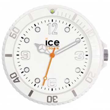 ICE-CLOCK - 玩味色彩質感掛鐘-白/28cm