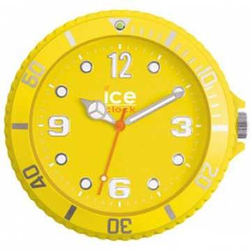 ICE-CLOCK - 玩味色彩質感掛鐘-黃/28cm