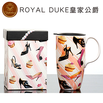 《Royal Duke》陶瓷馬克杯 專屬外盒款550ml- 高跟鞋