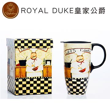 《Royal Duke》陶瓷馬克杯 專屬外盒款550ml- 廚房老爹