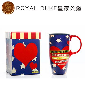 《Royal Duke》陶瓷馬克杯 專屬外盒款550ml- 美國甜心
