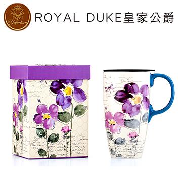 《Royal Duke》陶瓷馬克杯 專屬外盒款550ml- 紫之戀
