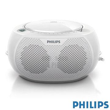 【飛利浦PHILIPS】CD / MP3 播放機 AZ100W(白色)