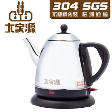 大家源 1L 304不鏽鋼分離式長嘴快煮壼/電水壺-TCY-2710