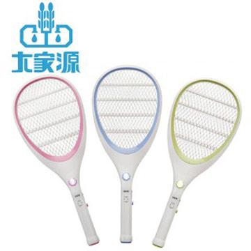 大家源 三層充電式電蚊拍-網球拍造型款TCY-6143(顏色隨機)