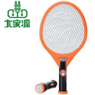 大家源 三層分離式充電LED照明電蚊拍-2入組(橘)TCY-6203