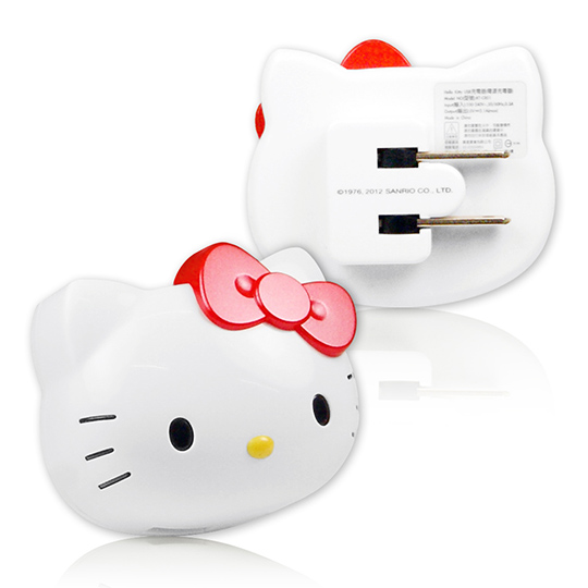 Hello Kitty iCharger AC 轉 USB 充電器 (KT-CR01)
