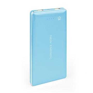 能量水晶 20000mAh大容量行動電源 藍色