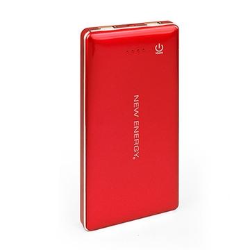 能量水晶 20000mAh大容量行動電源 紅色
