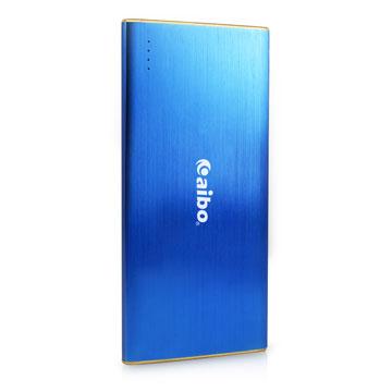 aibo 大容量輕薄行動電源8400mAh(三星電芯)-藍色