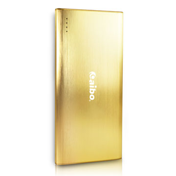 aibo 大容量輕薄行動電源8400mAh(三星電芯)-金色