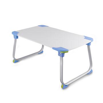 【aibo】 超輕多功能折疊NB電腦桌-藍色