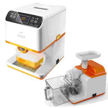 VITO智慧型養生家用榨油+慢磨機