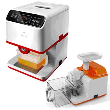 VITO智慧型二代養生家用榨油+慢磨機