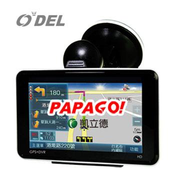 ODEL行車紀錄器+測速+導航+GPS軌跡紀錄四合一功能導航機TP-888