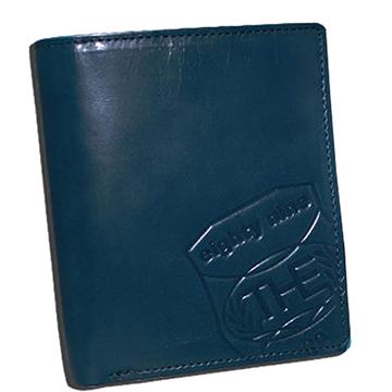 THE89 經典真皮短皮夾 -爵士國度921-6203-51藍色