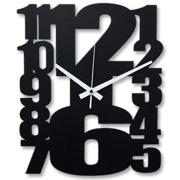 FRANCO TW-2083 時尚鏤空數字造型藝術掛鐘