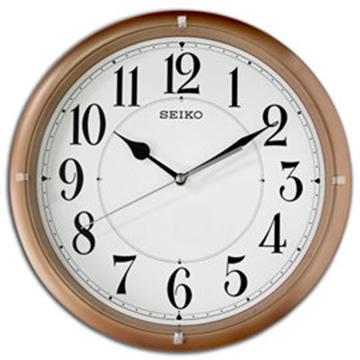 【日本精工-SEIKO】QXA637P 簡約美學居家靜音滑動式秒針掛鐘
