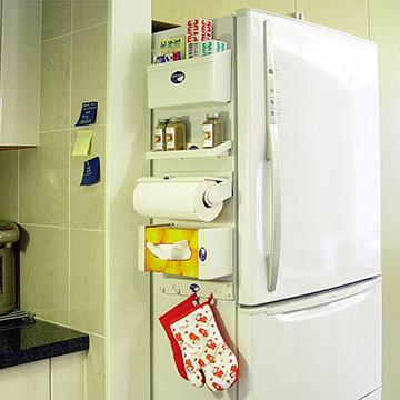 磁吸式冰箱收納五件組